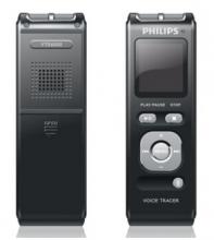 飞利浦(PHILIPS) VTR6000 4GB 40米远距离无线录音 麦克风录音笔 锖色