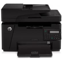 惠普(HP) M128FN 黑白激光一体机 黑色 A4幅面(打印/复印/扫描/传真)1年保修
