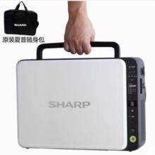 夏普(SHARP)AL-1035-WH激光便携式打印机复印扫描一体机