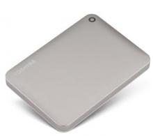 东芝(TOSHIBA)V8 CANVIO高端分享系列2.5英寸移动硬盘(USB3.0)3TB(尊贵金)