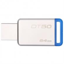 金士顿(Kingston)USB3.1 64GB 金属U盘 DT50