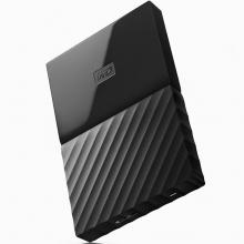 西部数据(WD)New My Passport 1TB 2.5英寸 黑色 移动硬盘WDBYNN0010BBK-CESN