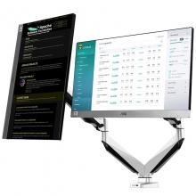 乐歌(Loctek)D7D 双屏显示器支架
