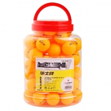 华士牌(hsp) 一星40mm乒乓球 一桶装共60个球 黄色605