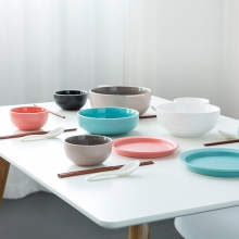 亿嘉IJARL 创意陶瓷碗盘筷套装