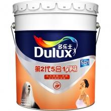 多乐士(dulux)A890 第二代五合一净味 内墙乳胶漆 油漆涂料 墙面漆白色18L