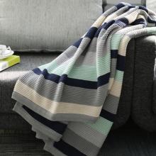 御棉堂 纯棉毛巾被 毛毯盖毯