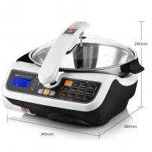 捷赛(gemside)D12A自动炒菜机 多功能烹饪锅电炒锅 炒菜机器人京东微联APP智能