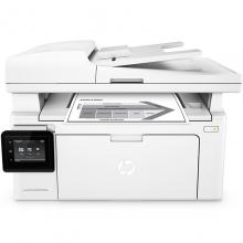 惠普(HP)LaserJet Pro MFP M132fw黑白激光打印复印扫描传真多功能一体机