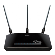 DLink/友讯 DIR-619L 300M大功率无线 路由器