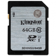 金士顿(Kingston)64GB 80MB/s SD Class10 UHS-I高速存储卡
