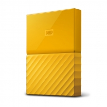 西部数据(WD)My Passport USB3.0移动硬盘 2.5英寸 1T 黄色(WDBYFT0020BYL)