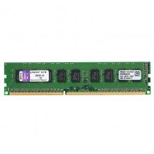 金士顿 DDR3 1600 8G ECC 服务器内存条 8GB PC3-12800E 兼容1333