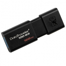 金士顿 DT 100G3 128GB USB3.0 U盘 黑色