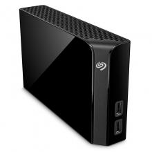 希捷 Backup Plus Hub 睿品8T 3.5英寸桌面硬盘 黑色(STEL8000300)