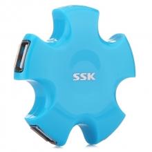 飚王(SSK) SHU024四口USB集线器