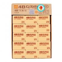 南韩(MUNGYO) 橡皮 4B 100A 30个/盒