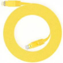 山泽(SAMZHE) SZ-610YL 超六类千兆超扁网线 (镀金头)10米