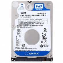 西部数据(WD)蓝盘 500G SATA6Gb/s 5400转16M 硬盘(WD5000LPCX)