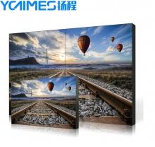 YCTIMES 液晶拼接屏安防监控器材液晶拼接单元监控显示器商用工业显示屏拼接大屏幕幕墙 49英寸-3.5mm
