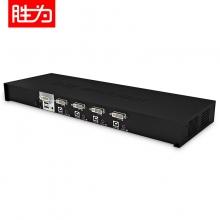 胜为 KS-7041D 4口自动USB KVM切换器