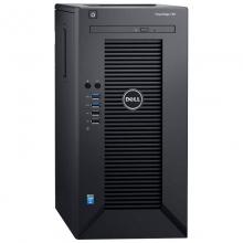 戴尔(DELL) T30小型台式电脑工作站绘图设计主机 至强四核E3-1225V5 3.3GHz 16G丨256G固态+2T丨P2000-5G显卡