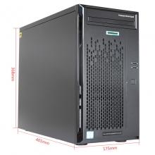 惠普 ML10 GEN9 1路塔式服务器(G4400 837826-AA1 8G内存+1T硬盘)