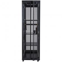 昆普42U机柜2米 标准19英寸机柜 冷轧钢板加厚机柜42U