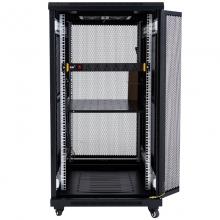 昆普22U机柜1.2米 标准19英寸 冷轧钢板加厚钢机柜22U