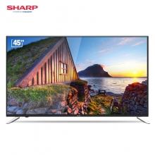 夏普 LCD-45SF470A 45英寸 HDR 智能网络液晶平板电视机