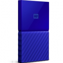 西部数据 My Passport 2TB 2.5英寸 贵族蓝 移动硬盘 WDBYFT0020BBL