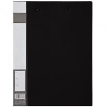 齐心A605办公轻便型双强力文件夹 黑色