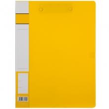 齐心A605办公轻便型双强力文件夹 黄色