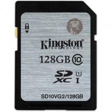 金士顿  80MB/s  Class10 UHS-I  SD存储卡(128GB)