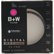 B+W XS-PRO 超薄多层纳米镀膜UV镜 67mm