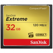 闪迪(SanDisk) 至尊高速CompactFlash存储卡 CF卡 32GB  读速50MB/s