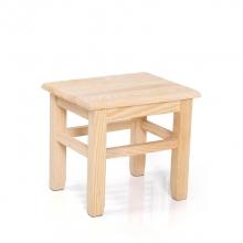 国产 小号松木方凳 25cm