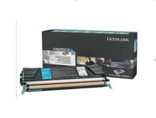 利盟(Lexmark) 彩色原装粉盒(C5220CS青色)