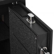 齐心(COMIX) BGX-M/D-48I 钢七连电子密码保管箱 高48CM