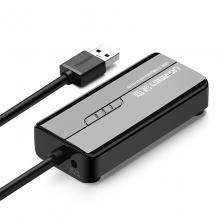 绿联 20266 USB3.0分线器 百兆有线网卡网口转换器