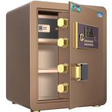虎牌 全钢防盗小型保管柜 入墙45cm(香槟金电子密码款)