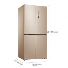 美的(Midea) BCD-468WTPM(E) 468升 十字对开多门冰箱 芙蓉金
