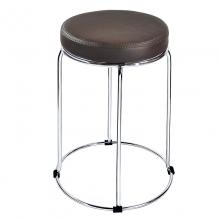 顺宇名轩 C006 折叠圆凳 49cm 咖啡色