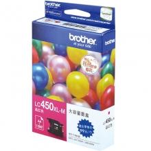 兄弟(brother) 原装彩色墨盒(LC450XL-M红色)