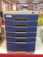 钊盛 ZS-2651  多用六层带锁文件柜