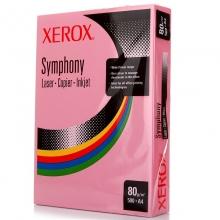 富士施乐(FujiXerox) 彩色复印纸 A4 80g  500张/包(粉色)