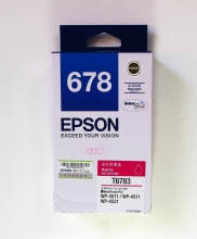 爱普生(EPSON) 678 原装墨盒(T6783 洋红色)
