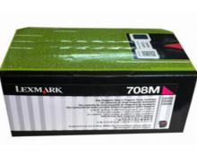 利盟(Lexmark) CS310DN/CS410DN彩色原装粉盒(708M红色)