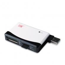 飚王(SSK) SHU026四口USB集线器(蓝色)