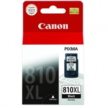 佳能(Canon) 黑彩墨盒(PG-810XL 黑色)(15ml)